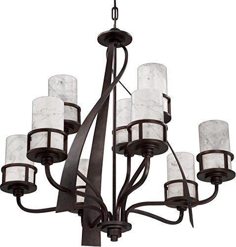 Luxury Rustic Chandelier, Large Size: 34.5