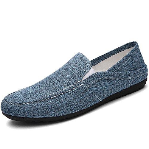 Guisantes de verano zapatos de pedal/Cómodo y transpirable zapatos ocasionales de conducción oleada A