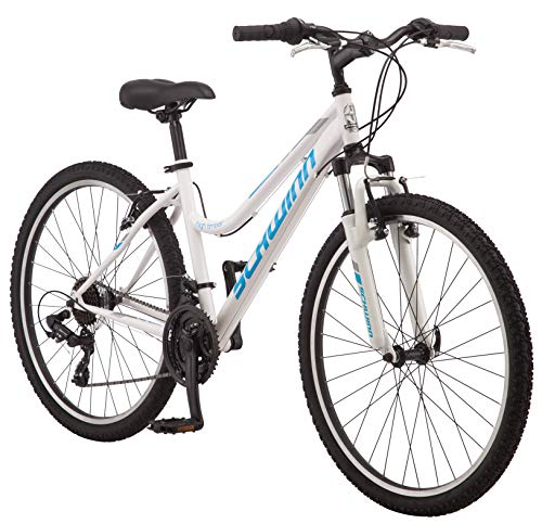"Schwinn High Timber Women's Mountain Bike, 26"" Wheels, White/Blue"