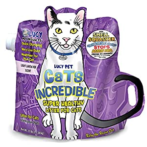 Cats Incredible Lavender SuperKittyKattakalizmik Klumping Litter, 25 lb