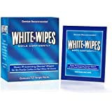 White Wipes - Teeth Whitening Wipes Designed for Coffee and Red Wine Lovers