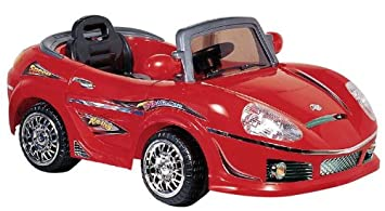 best ride on cars 698r 6v kids convertible red