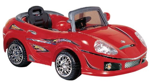 Best Ride on Cars 698R 6V Kids Convertible, Red by Best Ride On Cars
