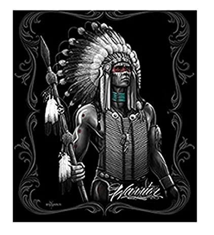 Amazon Dga Day Of The Dead Native American Warrior Spear