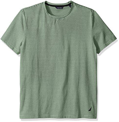 Nautica Short Sleeve Striped T Shirt