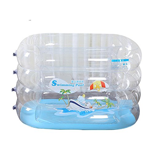 TOYM US Baby Swimming Pool Baby Inflatable Swimming Pool Thickened Children's Pool Family Bath by Folding Bathtub