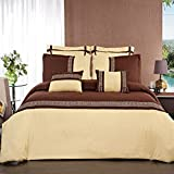 Royal Hotel Collection Astrid Gold with Chocolate 7PC - Best Reviews Guide