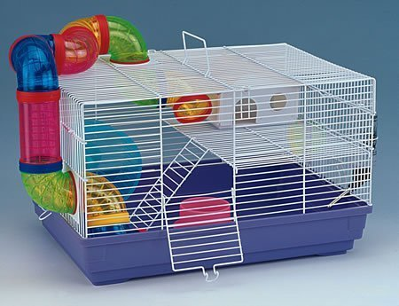 VivaPet hámster ratón rata Gerbil jaula de roedores casa, con tubo ...