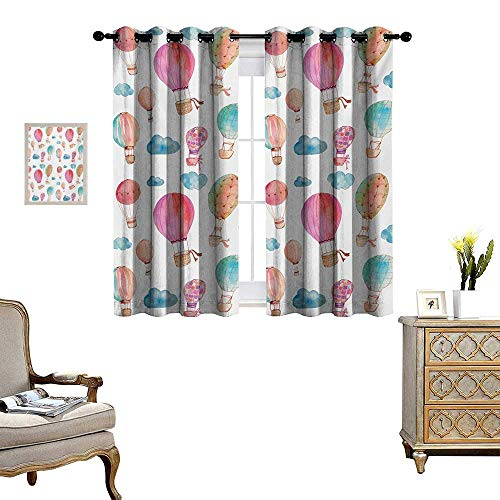 hot air balloon window curtains - 7