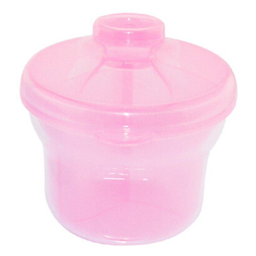 Potato001 Baby Travel Infant Milk Powder Formula Dispenser Container Storage Feeding Box (Pink)