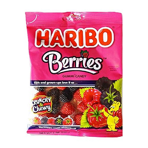 Gummy Candy (Berries) - 5 Ounce (Pack of 3)