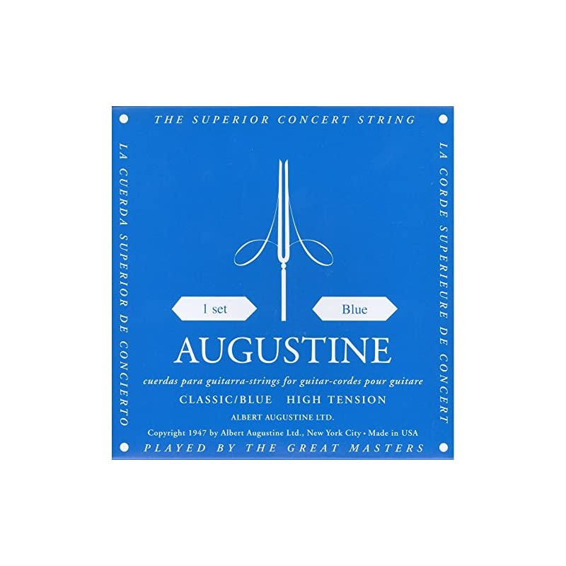 Albert Augustine 525A Gut Classical Guitar Strings, High Tension (Limited Edition)