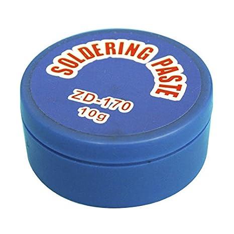 ElectroDH 4050 DH Pasta SOLDAR 10GRS Soldadura VASELINA DESOXIDANTE: Amazon.es: Bricolaje y herramientas