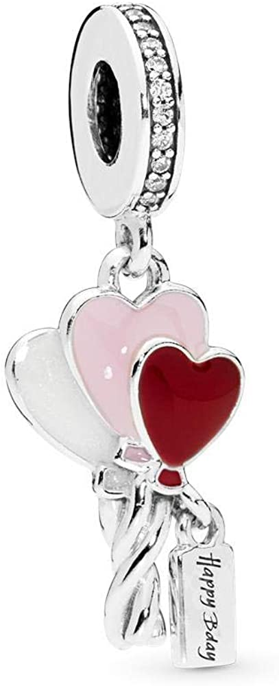 Sterling Silver Balloon Bouquet Charm