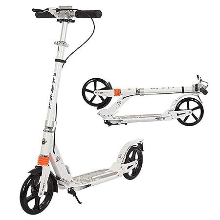 Patinetes Scooter De Pedal For Adultos con Freno De Mano Y ...