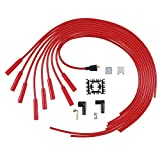 ACCEL 5040R 8mm Super Stock Spiral Universal Wire Set - Red