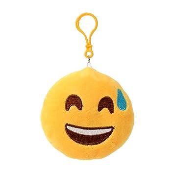 Llavero Emoji Emojicon 10 cm con cordel y Carabina - Sweat ...