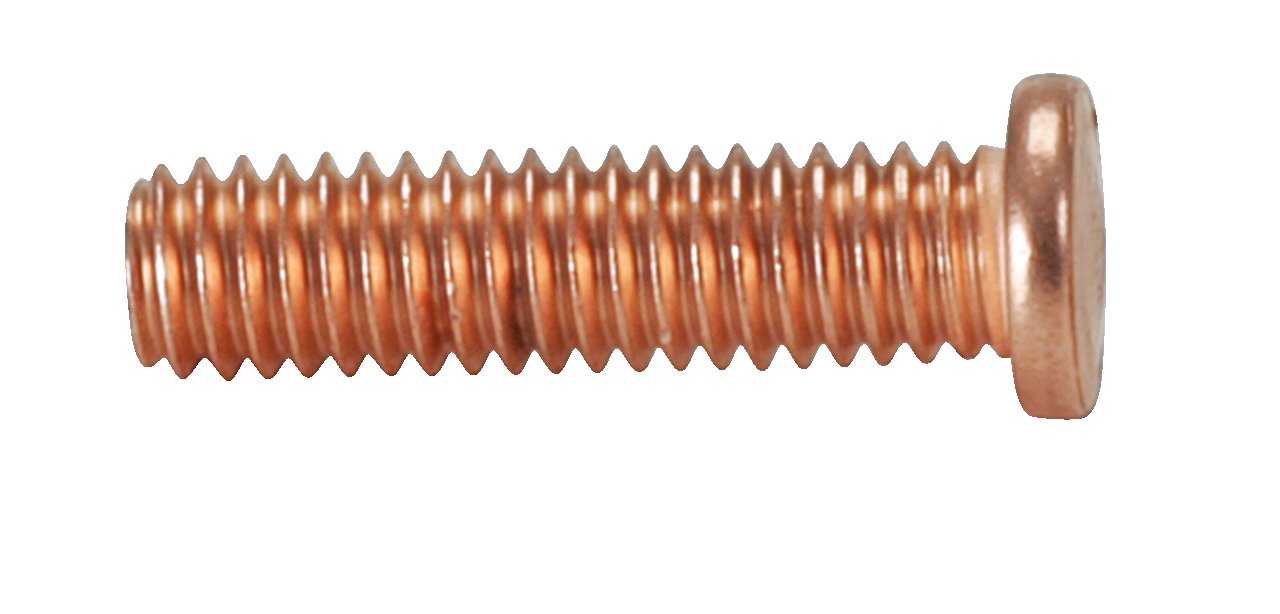 Tornillos M4 x 16,0 mm de cobre recubierto 100-pack KS Tools 500.8579