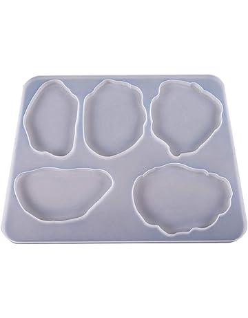 P Prettyia Candele per Muffa Sfera Uovo Decorativo in Plastica Regalo Fai da Te Battesimo Nascita