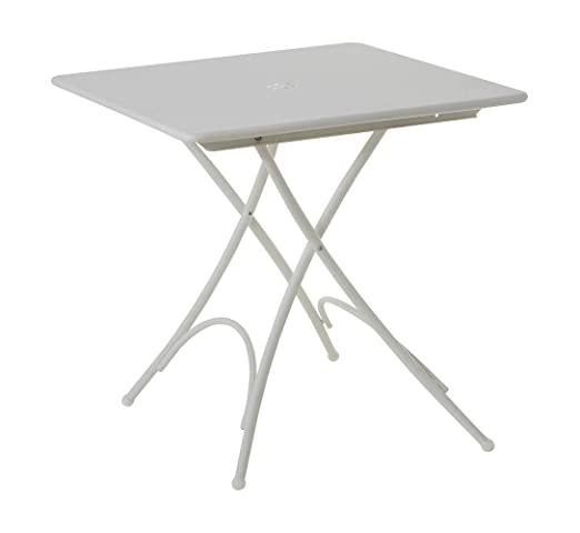 Emu mesa Pigalle plegable - Pequeño - Blanco Investigación CENTRUM ...
