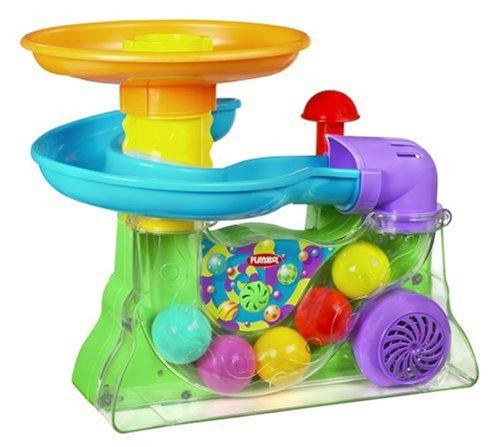Amazon.c: Hasbro Playskool Busy Ball Popper: Toys & Games