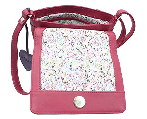 Leather 772 Bag Shoulder Mala Collection ANISHKA Candy Body 75 Cross Pink Compact Leather 1FgpSngwq