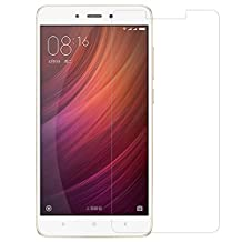 Kepuch Xiaomi Redmi Note 4X Screen Protector - 2 Pack Tempered Glass Film 9H Hardness Curved Edge Protection for Xiaomi Redmi Note 4X