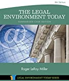 img - for The Legal Environment Today - Summarized Case Edition (Miller Business Law Today Family) book / textbook / text book