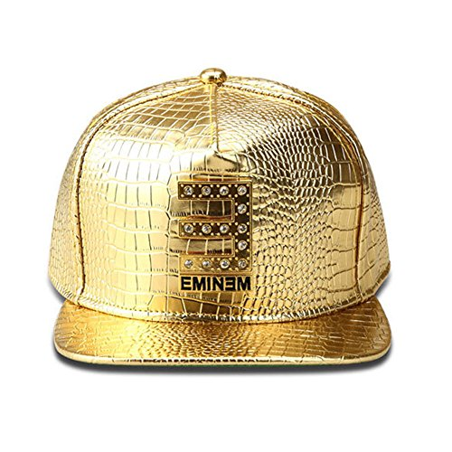 [TUVW Fashion Alligator Pattern Male Hip Hop Flat Hat(Gold)] (Pork Pie Hat For Sale)