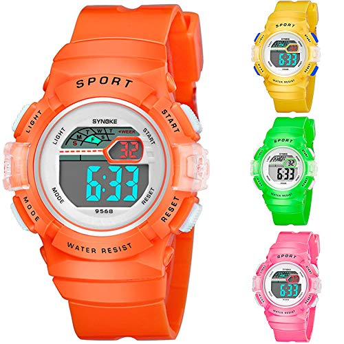 Multifunction Alarm Weekday Stopwatch Kids Sports Digital Luminous Wrist Watch by Gaweb (Image #1)