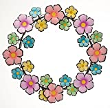 Metal Flowers Wreath by Maple Lane CreationsTM