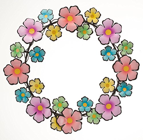 Metal Flowers Wreath Maple CreationsTM