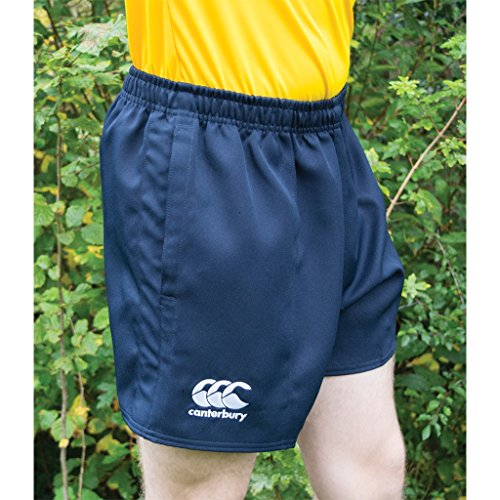 Canterbury Childrens/Kids Professional Elasticated Sports Shorts (12 Years) (Black) (Canterbury Womens Rugby)