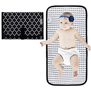 Baby Portable Changing Pad, Diaper Bag, Travel Mat Station,...