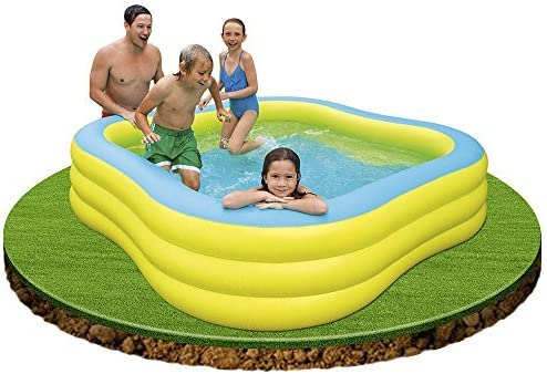 Amazon.com: Centro de playa Wave nadar Intex piscina: Jardín ...