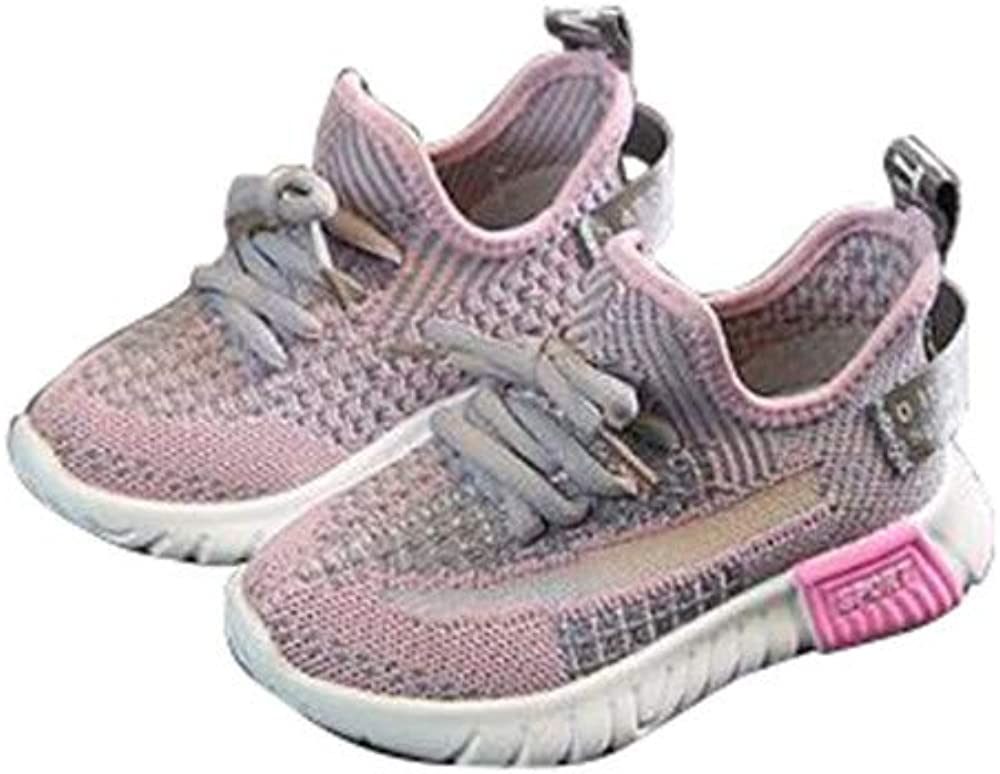 laideqi Boys Girls Breathable Net Running Shoes Kids Casual Walking Sneakers Shoe