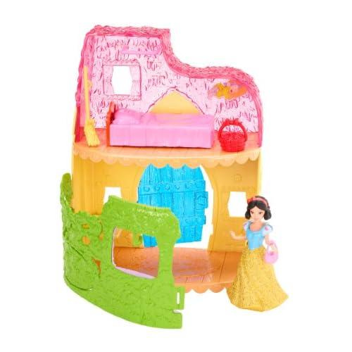Disney Princesses - X9434 - Maison de Poupée - Blanche Neige et son Cottage
