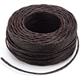 Tandy Leather Factory Waxed Thread, 25-Yard, Brown