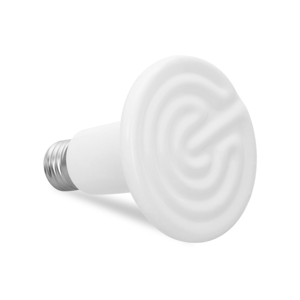 JandCase 100W Ceramic Heat Lamp, Infrared Heat Emitter Bulb, Pet Coop Heater Reptile Brooder Bulb, Non-light Lamps, White