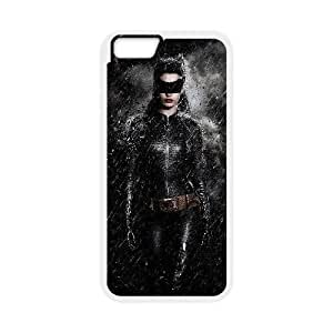 Fashion Style for iPhone 6 plus 5.5 inch Cell Phone Case White catwoman the dark knight rises YSJ2315310