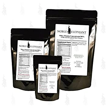 Whey Protein Concentrate 80 Powder, Unflavored 5 Kilograms 11 Lbs