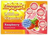 ALACER – Emergen-C 1000 mg Vitamin C Raspberry – 30 x 0.3 oz. Packets Review