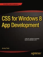 CSS for Windows 8 App Development Front Cover