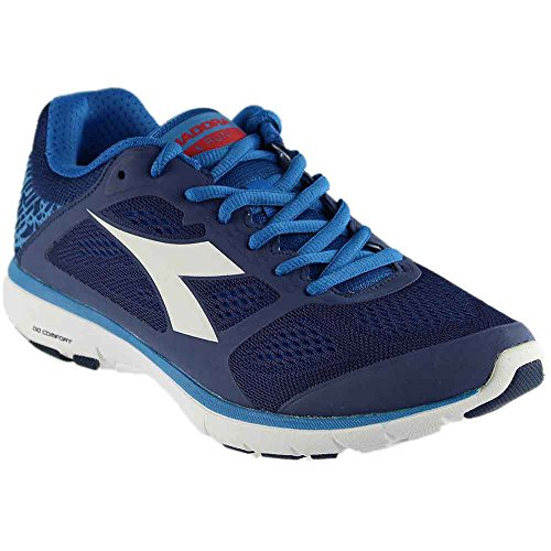 Diadora Men's X Run Saltire Navy/Assuro Bambino/White Athletic (Diadora Team Backpack)