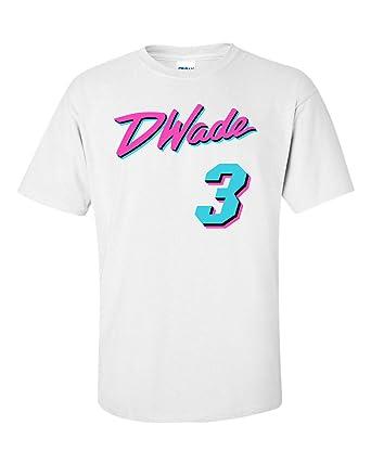 1572231e0 PROSPECT SHIRTS White Miami Wade Miami Vice T-Shirt at Amazon Men s ...