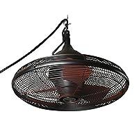 Lowes.com deals on Allen + Roth Valdosta 20-in Oil Rubbed Bronze Ceiling Fan