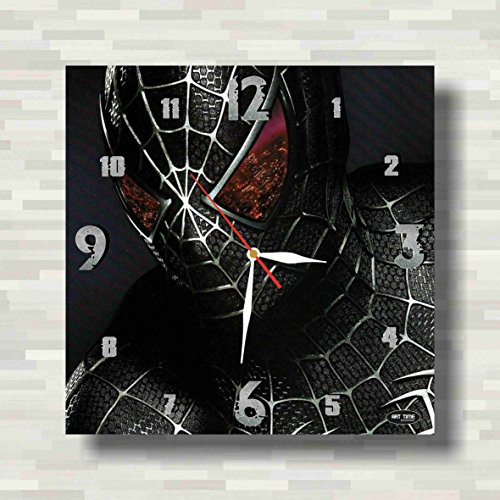 Costume The 2099 Man Amazing Spider (Spiderman 11.8'' Handmade Wall Clock - Get unique décor for home or office – Best gift ideas for kids, friends, parents and your soul)