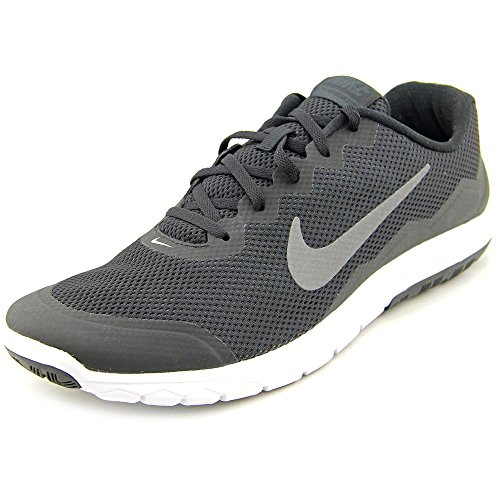 on sale 5af5a 9897b Galleon - Nike Men s Flex Experience RN 4 (Blk Mtlc Drk Gry Anthrct White) Running  Shoe, 9.5 D(M) US