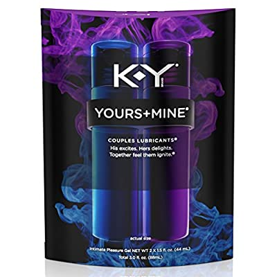 K-Y Yours + Mine Couples Personal Lubricants