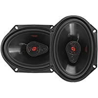 CERWIN-VEGA MOBILE H7683 HED(R) Series 3-Way Coaxial Speakers (6 x 8, 360 Watts max)